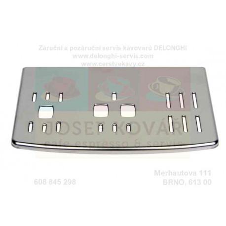 Mřížka odkapní kovová chrom ECAM 510