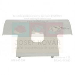 Panel předního krytu bílý plastový ECAM 550.55