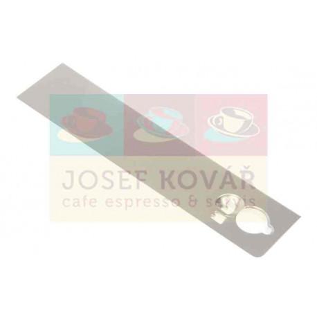 Krytka levé přední části trysky páry plastová ECAM 550