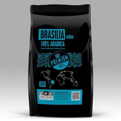 Brazílie Cerrado Dulce 100% arabika s plným tělem, nízkou kyselostí ořechovou chutí.