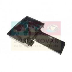 Miska odkapní plastová černá ECAM 25.462