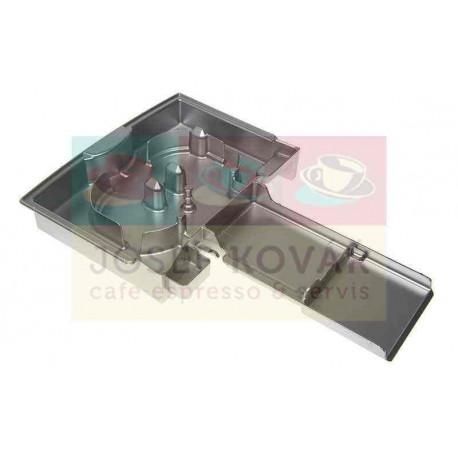 Miska odkapní plastová stříbrná ECAM 25.462