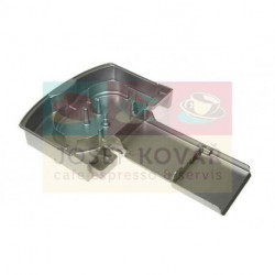 Miska odkapní plastová stříbrná ECAM 22