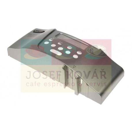 Kryt ovládacího panelu Přední Stříbrný ESAM 4500