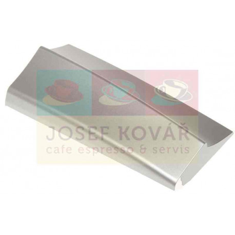 Krytka předních dvířek stříbrná ESAM 4500