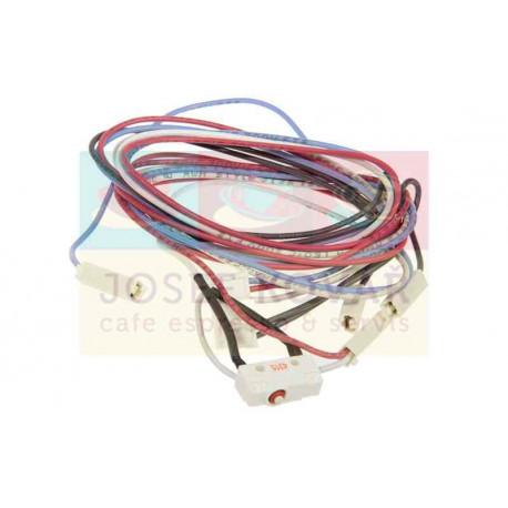 Kabeláž trysky páry s mikrospínačem