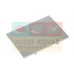 Kryt nádoby na sedlinu přední stříbrný ECAM 23