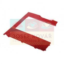 Kryt Levý boční červený plastový ECAM