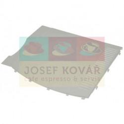 Kryt Levý boční bílý plastový ECAM
